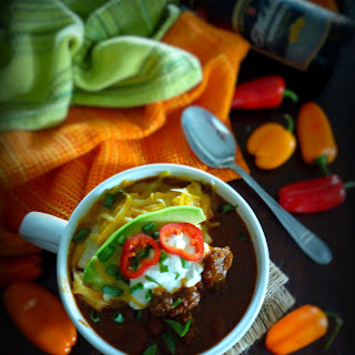 AmberBock Beer Chili with Beans