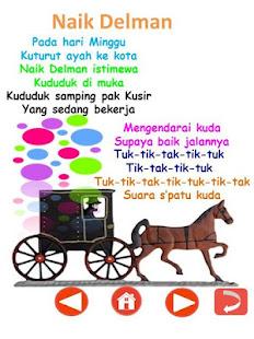 Lirik Lagu Delman : lirik, delman, Indonesia, Windows, Download, 4.2.2, Com.companyname.LaguAnakLengkap