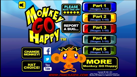 Monkey GO Happy Screenshot