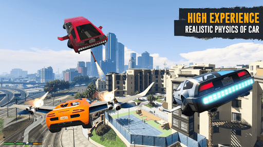 Flying Car Shooting Game: Modern Car Games 2020 1.1 screenshots 4
