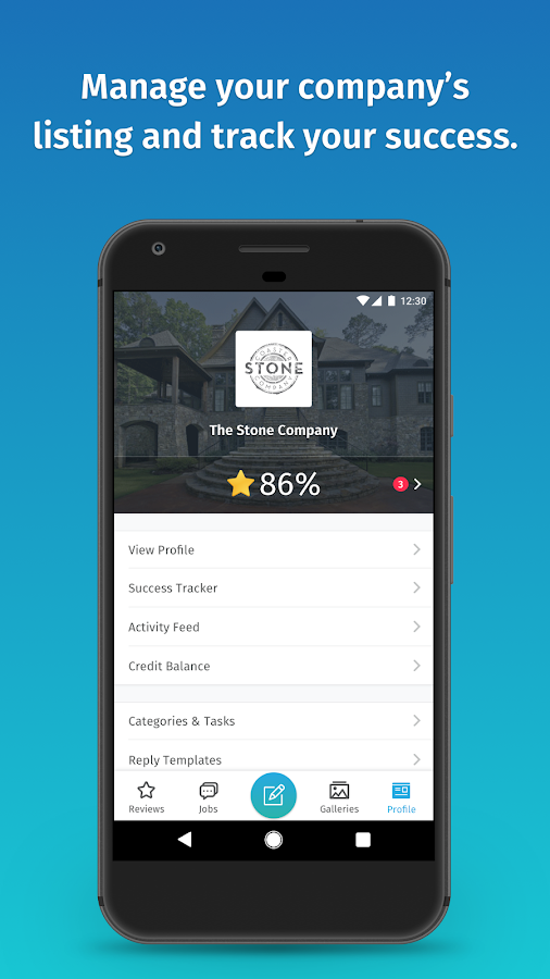 HomeStars for Business- screenshot