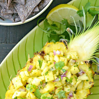 Fresh Pineapple Salsa.