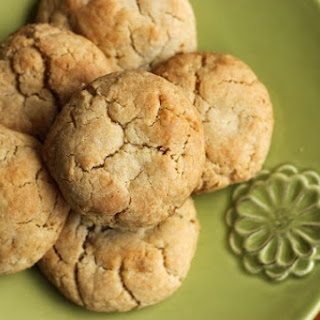 Chunky Chewy Ginger Cookies.