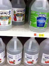 Photo: Then I realized that most people that are looking for alternative cleaning methods would know to look here, but some people who didn't know that might go 'grocery shopping' and see it here realizing that there IS another option!