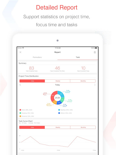 Focus To-Do: Pomodoro Timer & To Do List 10.1 Screenshots 18