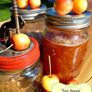 Cherry Jam Recipe Without Pectin and Low Sugar.
