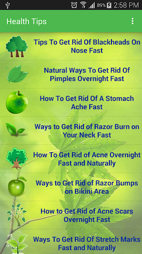 Healthy Living : Home Remedies
