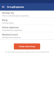 Group Expense - track & split expenses - náhled