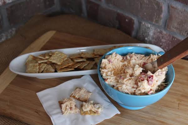 Crab And Roasted Pepper Spread Recipe