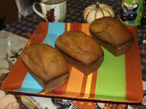Mini Pumpkin Loaves Recipe