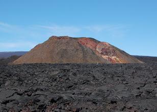 Photo: Lava from Mauna Loa's 1984 eruption surrounds it.