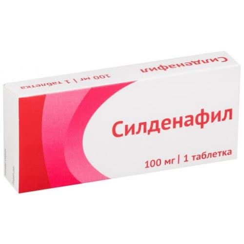 Силденафил таб.п/о плен. 100мг №1