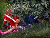 Dygert kwam zwaar ten val op het WK tijdrijden bij de vrouwen