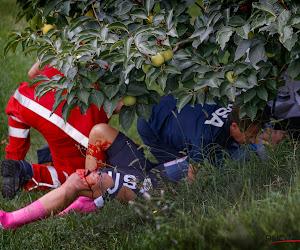 """🎥 Opluchting in Amerikaans kamp na angstwekkende tuimeling van Dygert over de vangrails: """"Ze is bij bewustzijn"""""""