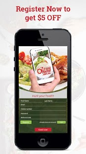 OZFOODHUNTER - Order Food Online- screenshot thumbnail