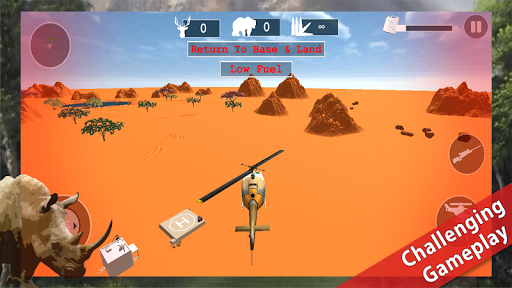 Helicopter Shooting Simulation: Sniper Hunting 3D