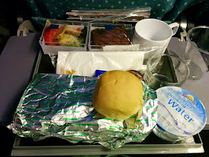 Photo: Singapore Airlines meal for that evening.