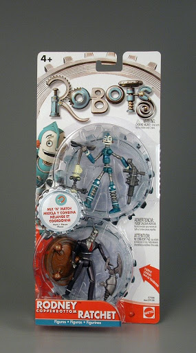 Action figure:Robots | Rodney Copperbottom and Ratchet