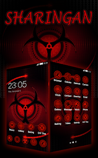 App Sharingan Theme: Cool launcher Rasengan Wallpaper APK for Windows Phone