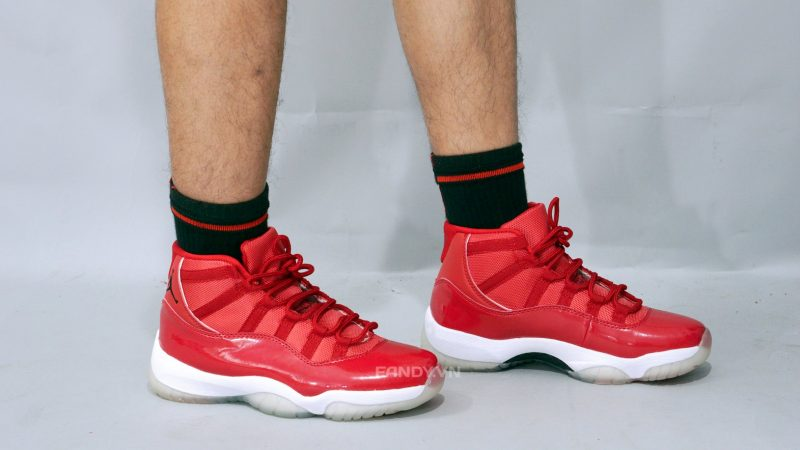 low priced d24fb e89bb Air Jordan 11 Gym Red mẫu giày nóng tại Fandy