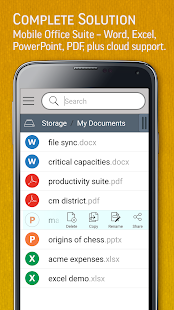 SmartOffice - View & Edit MS Office files & PDFs Screenshot