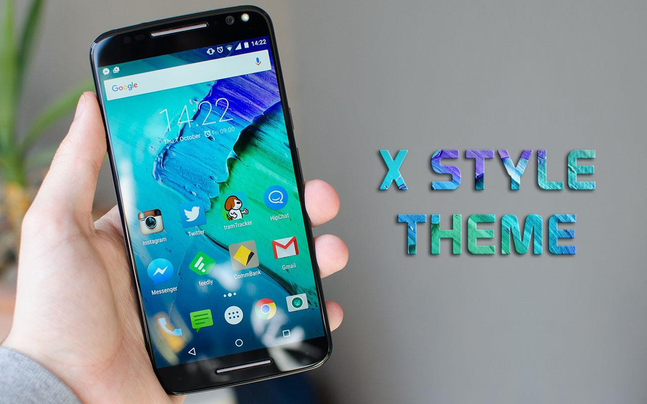 Gmail themes dynamic - X Style Launcher And Theme Screenshot
