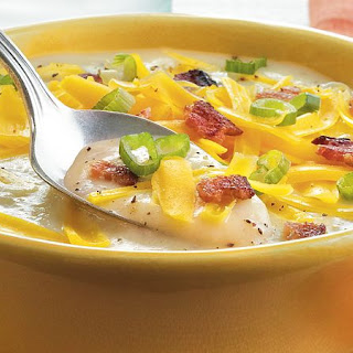 Easiest-Ever Loaded Potato Soup.