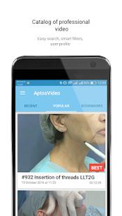 AptosVideo - náhled