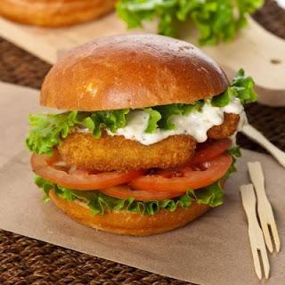 Copycat Long John Silver's Fish Sandwich.