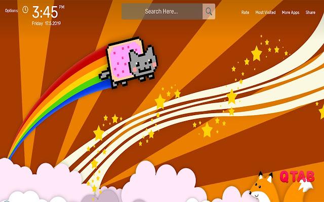 Nyan Cat Wallpapers HD Theme