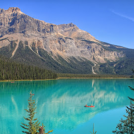 Emerald Lake by Margie Troyer - Landscapes Waterscapes (  )