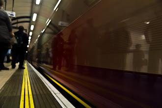 Photo: Speeding Metro