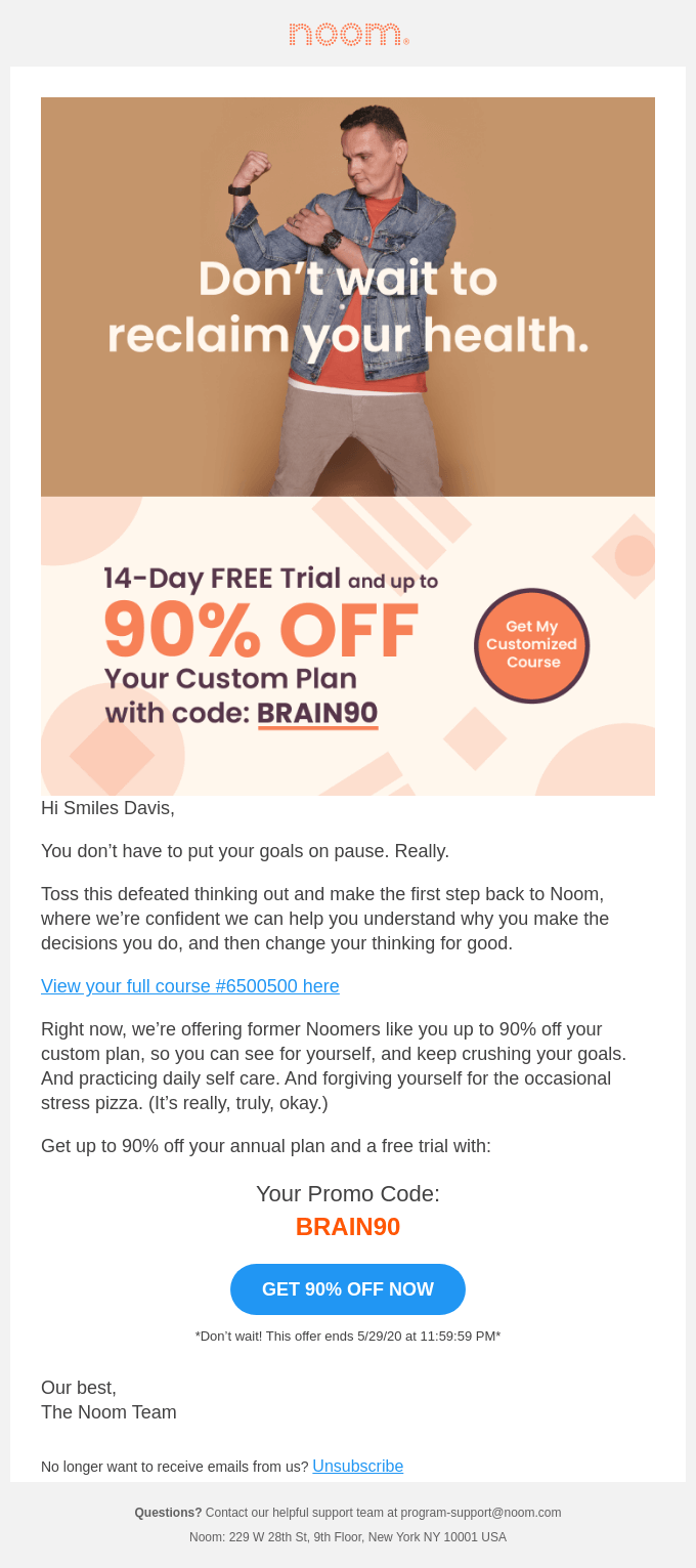 custom plan for up to 90 off