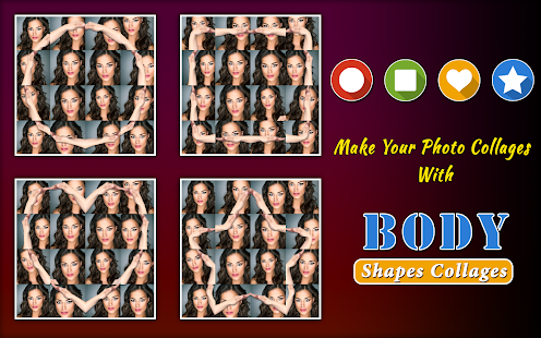 Body Shape Collages- screenshot thumbnail