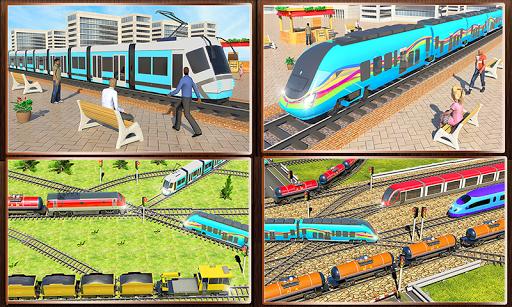 Indian Train City 2019 – Oil Trains Game Driving screenshots 2