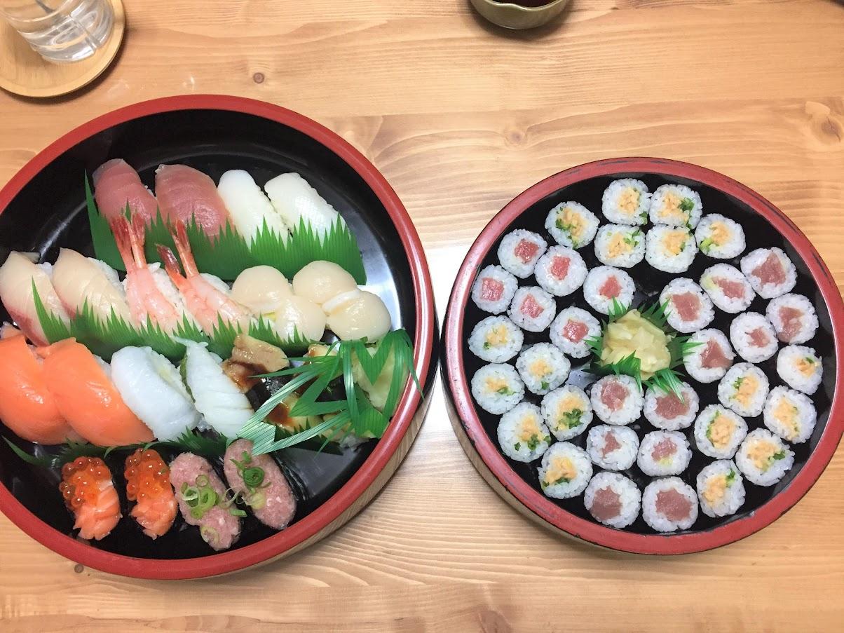 ぼっち 宅配寿司