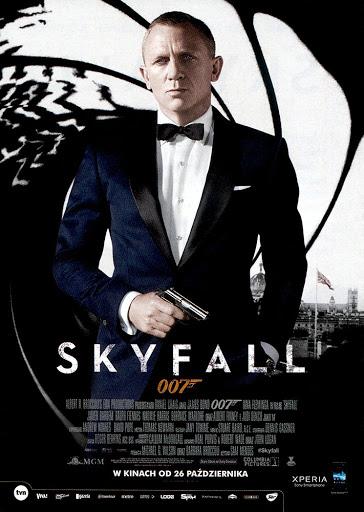 Przód ulotki filmu 'Skyfall'