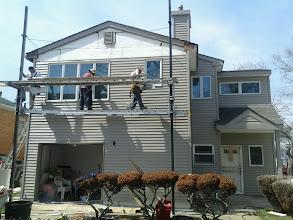 Photo: House with New Siding Long Beach NY
