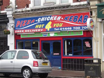 Pizza Hot 4 You On Broad Street Pizza Takeaway In Barry