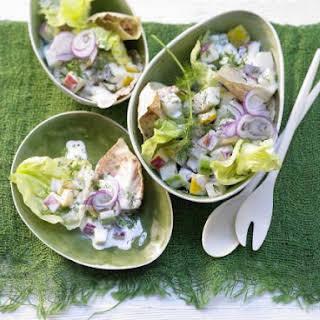 Colorful Vegetable Salad.