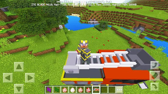 FireEngine mod for MCPE minemaps - náhled