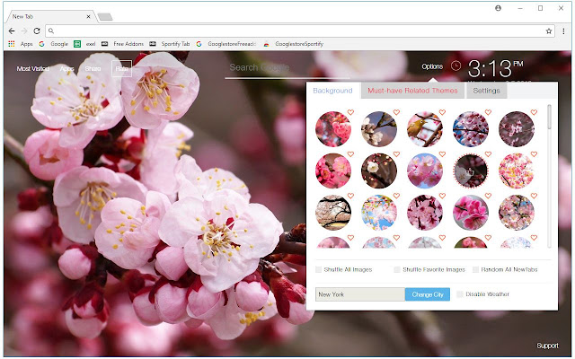 Cherry Blossom Wallpapers HD Blossoms New Tab