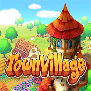 Town Village : ferme, commerce, farm, build, city