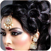 indian hair styler app women