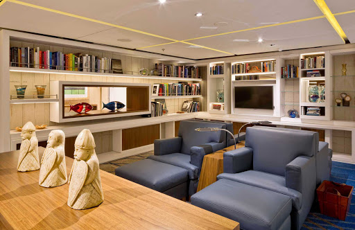 Viking-Star-Living-Room - The Living Room on Viking Star includes a sitting area where you can read or just relax.