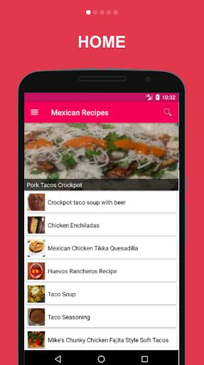 1000 Mexican Recipes 1.0 screenshots 2