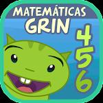 Matemáticas con Grin I para niños 4,5,6 años 2.1.7