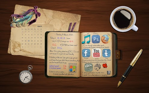 Secret diary with Password - náhled