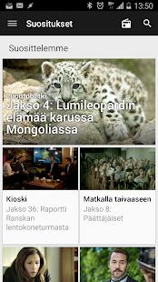 YLE Areena - screenshot thumbnail