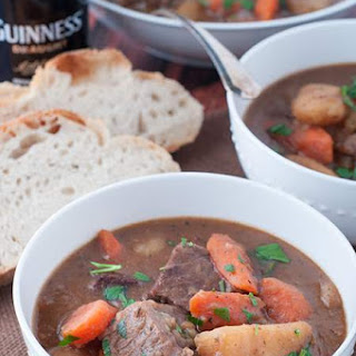 Pressure Cooker Irish Stew with Guinness Beer